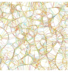 Abstract Colorful lines on neutral EPS 8 vector image vector image