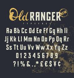 Old ranger 001 vector