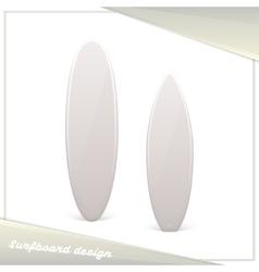 Design Surfboard vector image vector image