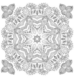 pattern for coloring book vector image