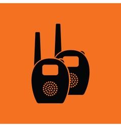 Baby radio monitor ico vector image