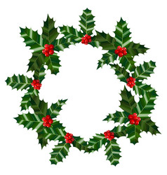 Holly round composition vector