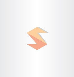 letter s logo icon design vector image