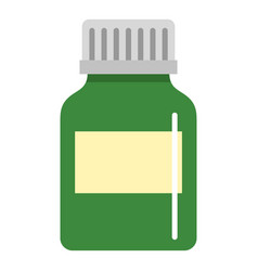 Medicine bottle icon isolated vector
