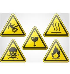 Warning Sign Set 2 vector