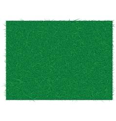 REAL GRASS GREEN vector image