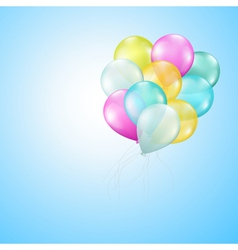 balloons heaven vector image vector image