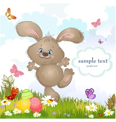 aester rabbit5 vector image vector image