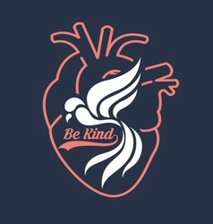 Be Kind Poster vector