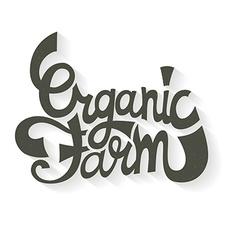 Organic Farm vector