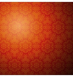 Chinese pattern background Seamless wallpaper vector image