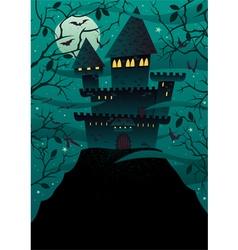 Spooky Castles 2 vector image vector image