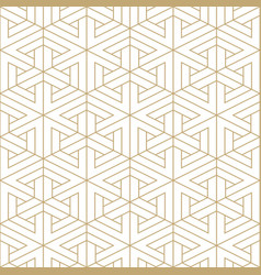 Abstract seamless ornamental pattern - geometric vector