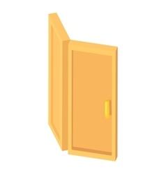 Door icon cartoon style vector image