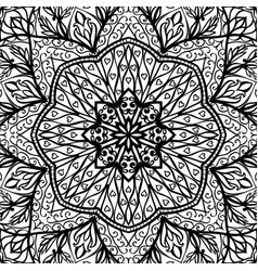 filigree template for shawl vector image