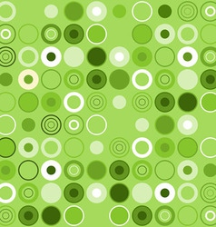 Green Circle Decoration vector image
