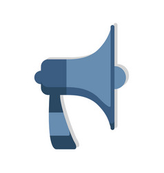 megaphone loudspeaker icon announcement speaker vector image