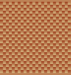 Seamless shiny copper color squar background vector