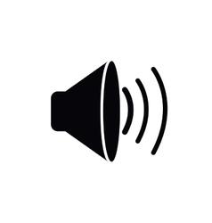 speaker isolated icon design vector image