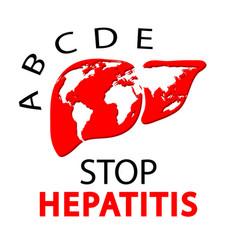 World hepatitis day concept vector