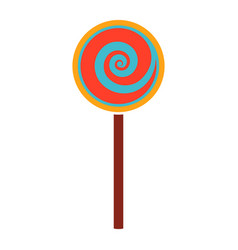 Candy food candy isolated vector