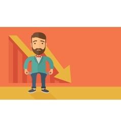 Failed Businessman vector image
