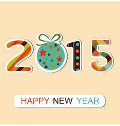 New Year 2015 background vector