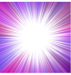 Purple psychedelic abstract exlosive concept vector