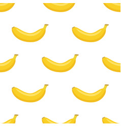 seamless pattern of bananas vector image