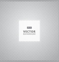 abstract white and gray grid pattern background vector image vector image