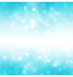 Blue holiday light background vector image vector image