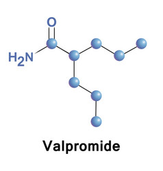 Valpromide is a carboxamide of valproic acid vector
