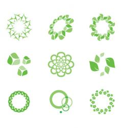 eco elements vector image vector image
