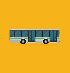 a bus eps10 vector image