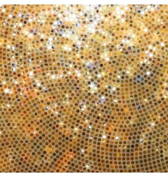 Amazing template orange glittering EPS 8 vector image vector image