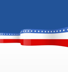 america flag design vector image