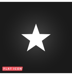 Clasic star - icon vector image