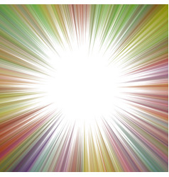 colorful psychedelic abstract ray burst vector image
