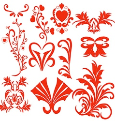 elements of the pattern vector image