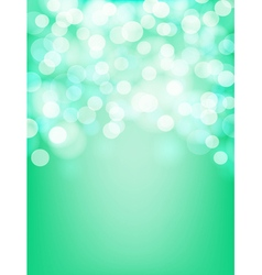 green and aqua background vector image