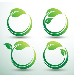 Green labels2 vector