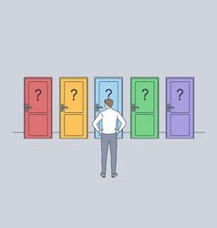 Hard decision success or failure concept vector