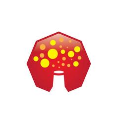 hexa lab logo vector image
