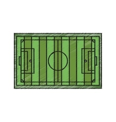 Isolated league of soccer design vector