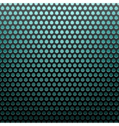 metal grid blue light background vector image
