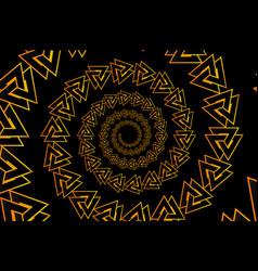Valknut pattern vector