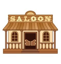 Western Saloon vector
