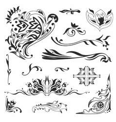 Islamic vignettes vector image