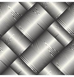 striped blocks pattern vector image vector image