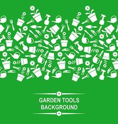 garden card green vector image vector image